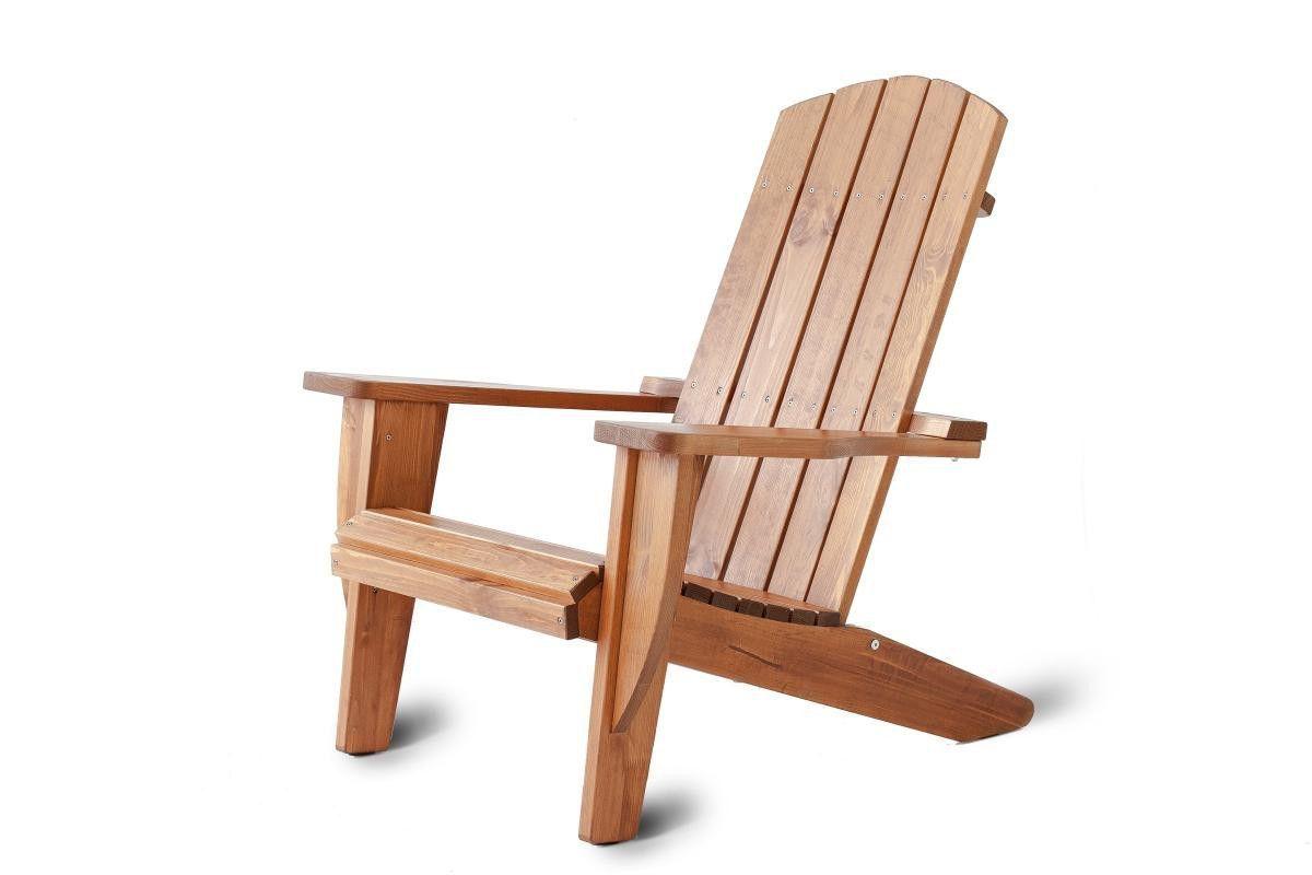Ambientehome Adirondack Chair Ottawa Massivholz Braun Jetzt ...