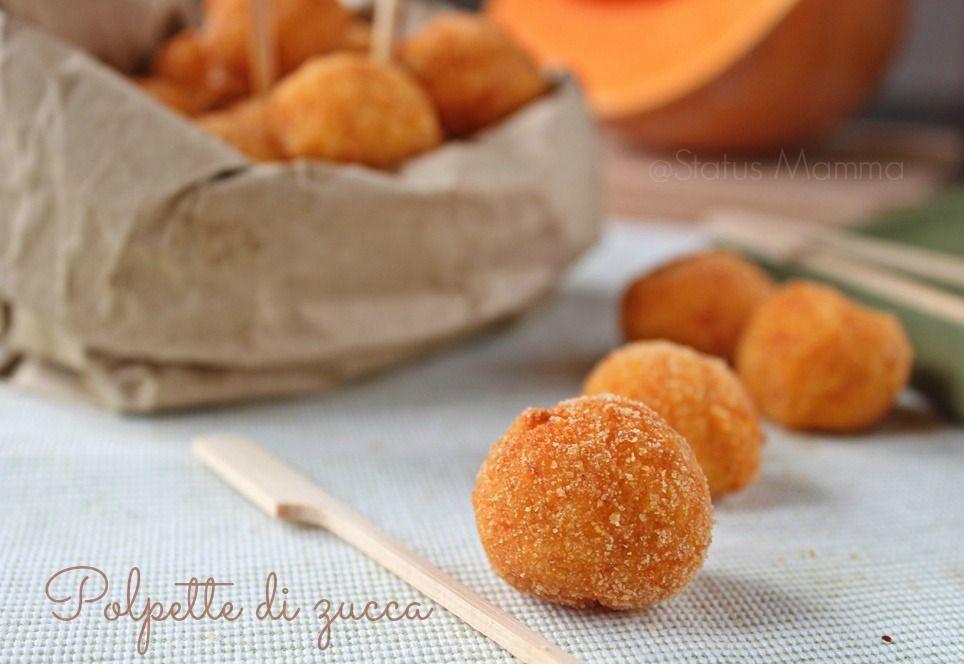 Polpette di zucca e patate con provolone zucca for Cucinare vegetariano