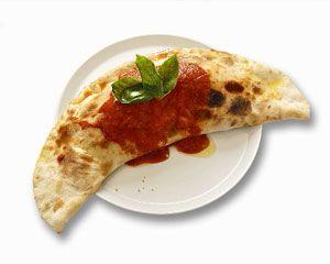 """Italian night calls for a #CHEESY and ohhhhh so yummy """"Super Calzones"""" #recipe!   Fresh from the #frigo = va bene!"""