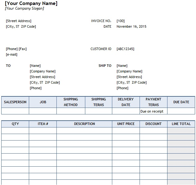 How To Make Purchase Order In Excel Purchase Order Template Invoice Template Purchase Order