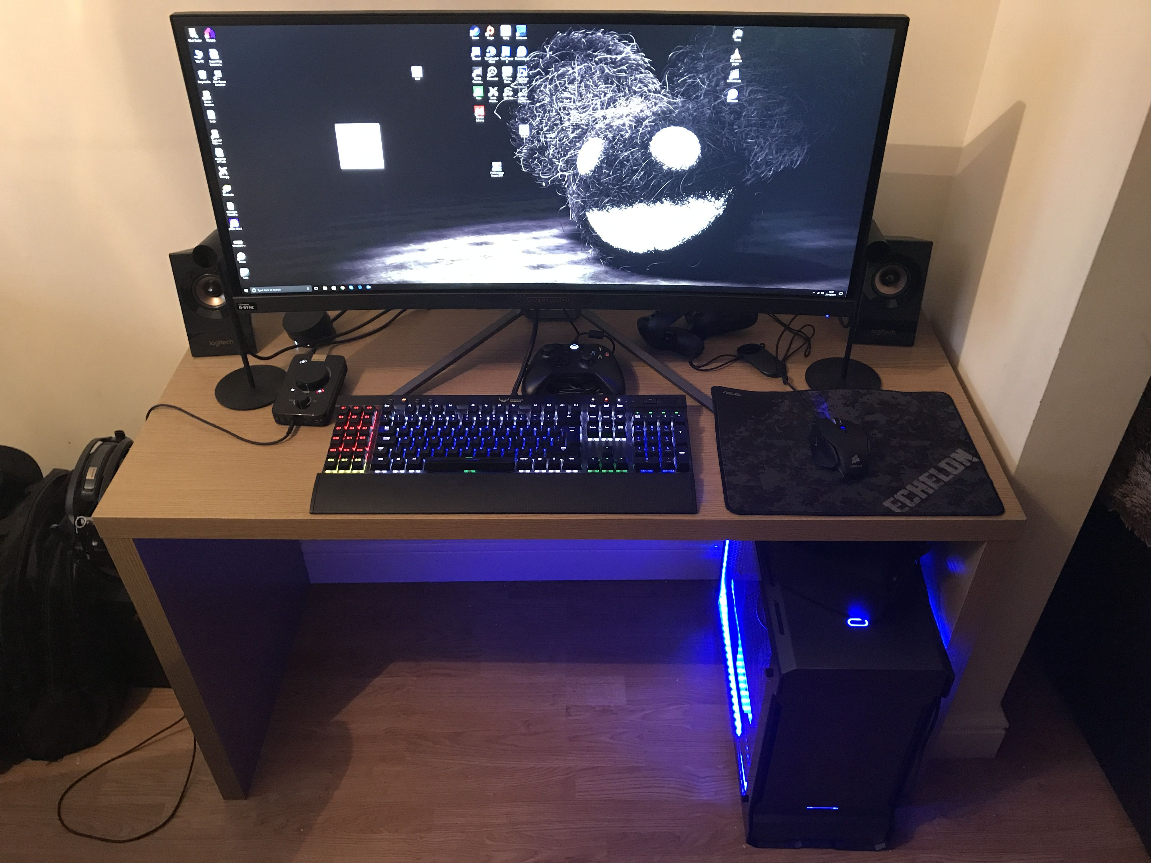 Limited Space Pc Battlestation Dream Pcs Pinterest Telephone Line Wiring Group Picture Image By Tag Keywordpictures