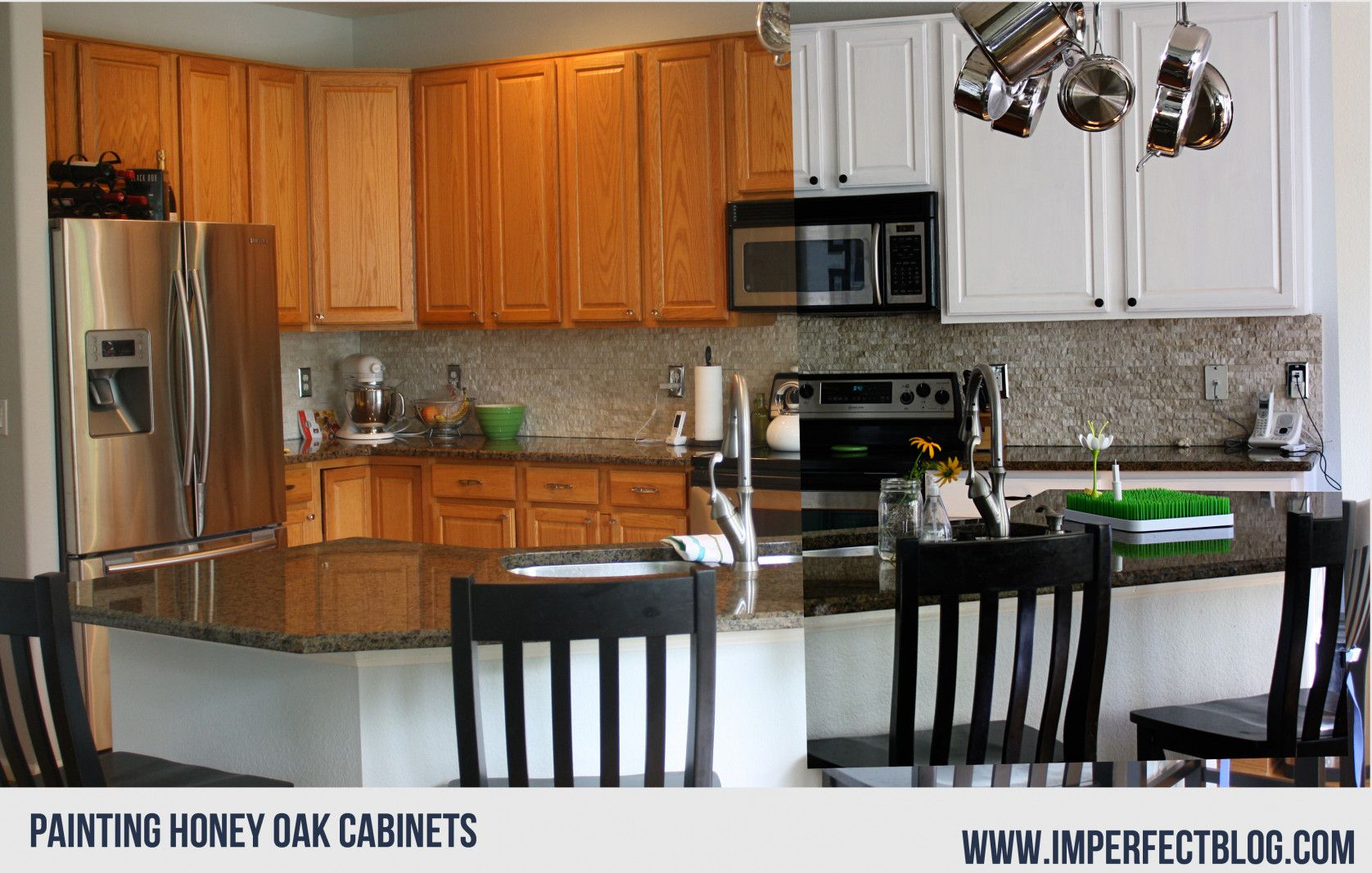 99+ Can Oak Cabinets Be Painted - Kitchen island ...