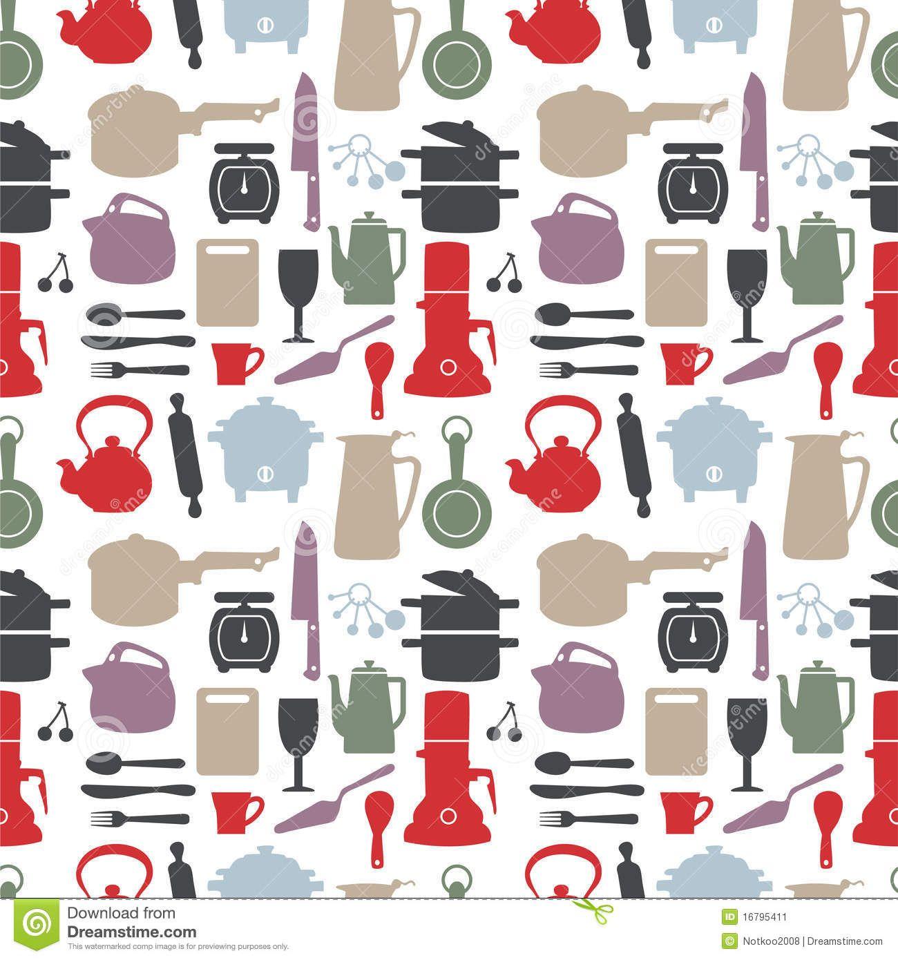 Kitchen Patterns More Similar Stock Images Of Seamless Kitchen