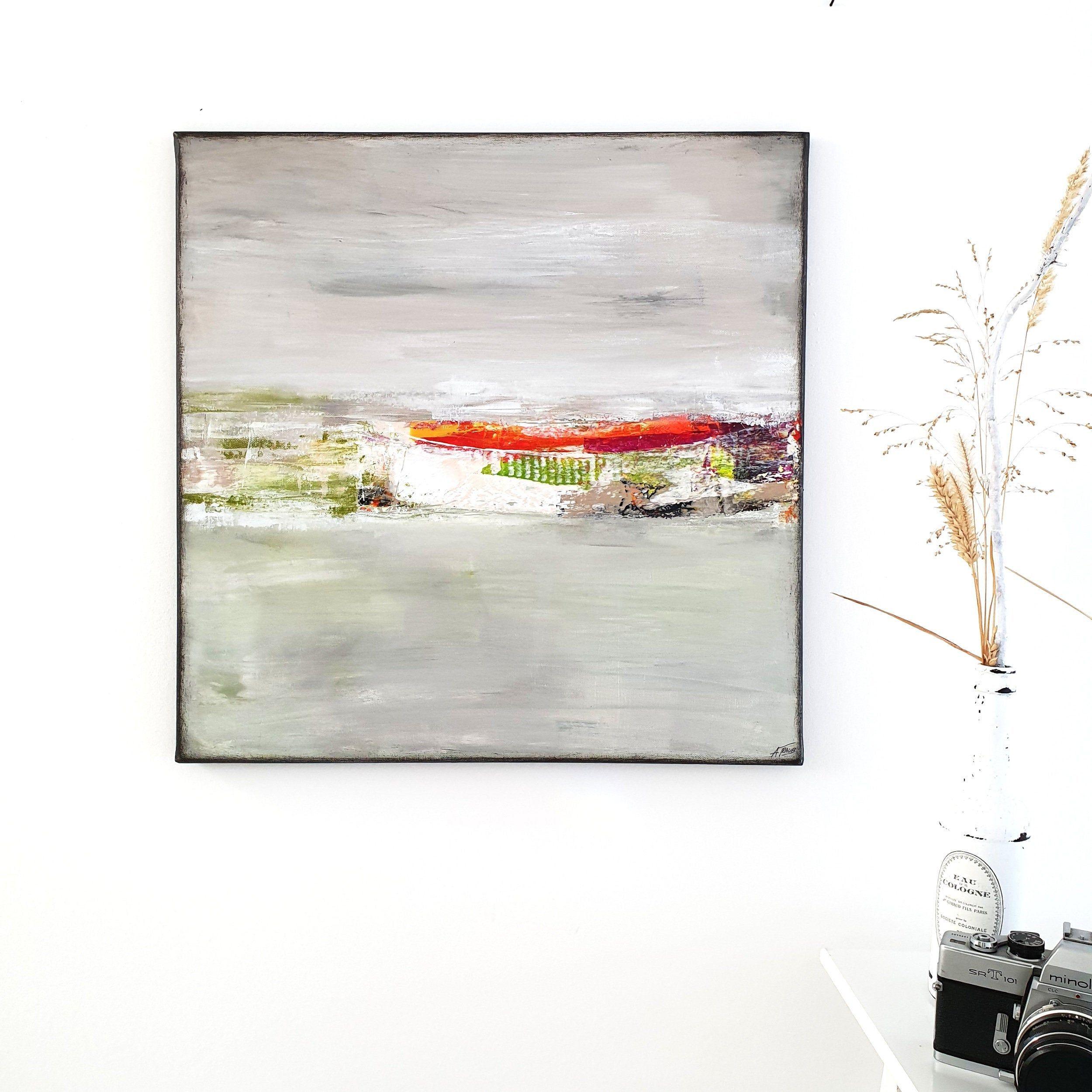 A Traub Malerei 50x50 Cm Acryl Auf Leinwand Kunst Modern Abstrakt Gemalt Wandbild Acrylbilder Acrylmalerei Original Bi In 2020 Abstrakt Malen Acrylmalerei Malerei