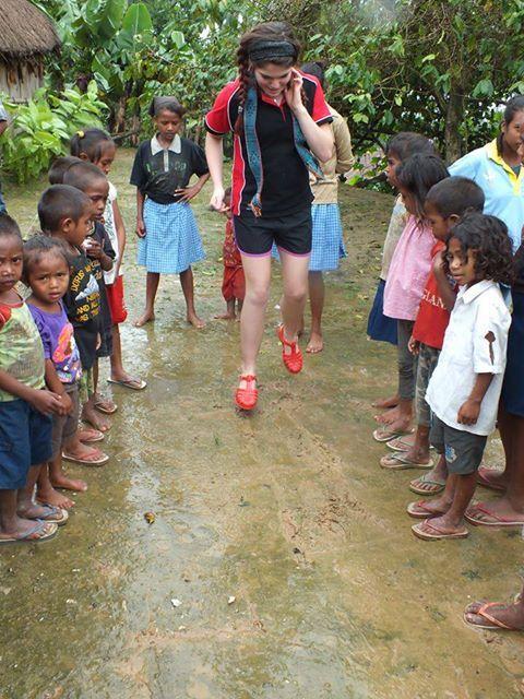 What an adventure - Volunteering beans.