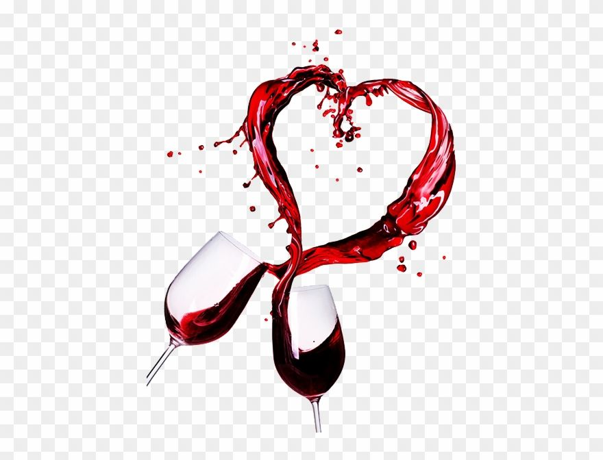 Wine Glass Splash Png Wine Heart Clipart Is Selected By Seekclipart Download 600x600 Transparent Png Clipart For Free And Valentines Day Wine Wine Red Wine