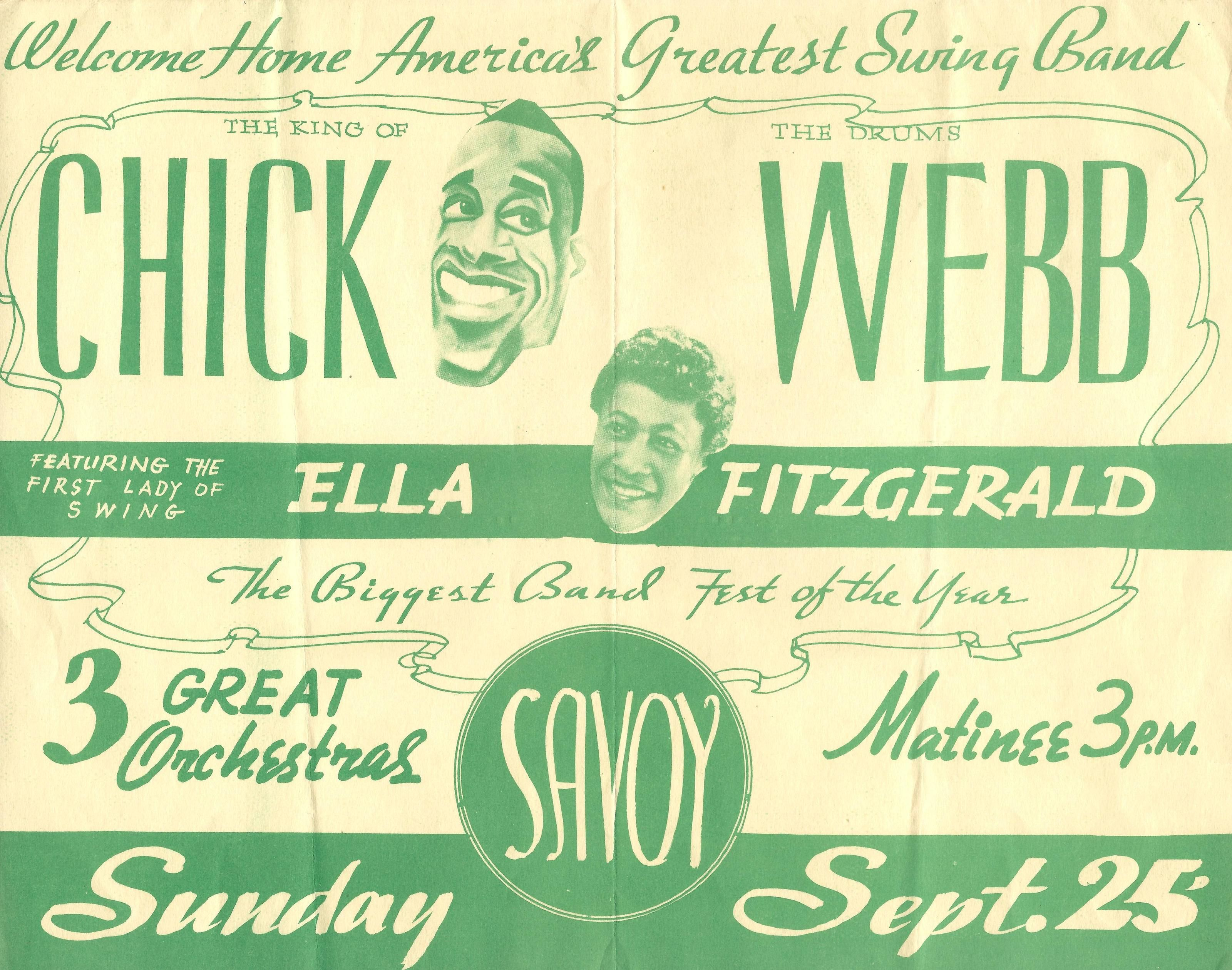 Pin On Ella Fitzgerald Jazz Concerts Posters Programs Tickets Ads