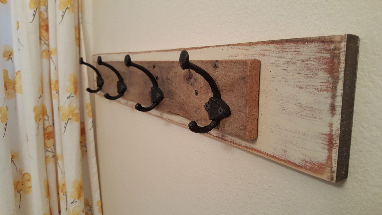 wood towel rack with hooks. Towel Hook, Rustic Rack, Reclaimed Wood Rack Bathroom, With Hooks W
