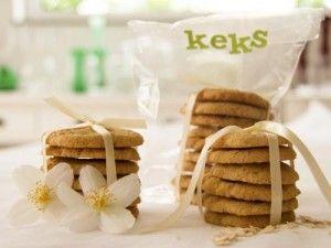 Hafer-Ingwer-Kekse