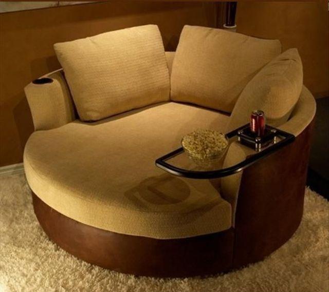 Praktisches und komfortables Sitzmöbel