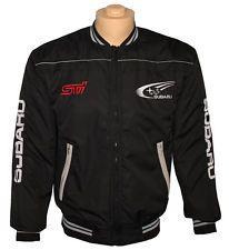 40515a082298 SUBARU STI black Jacket - embroidered logos   Subaru WRX STI ...