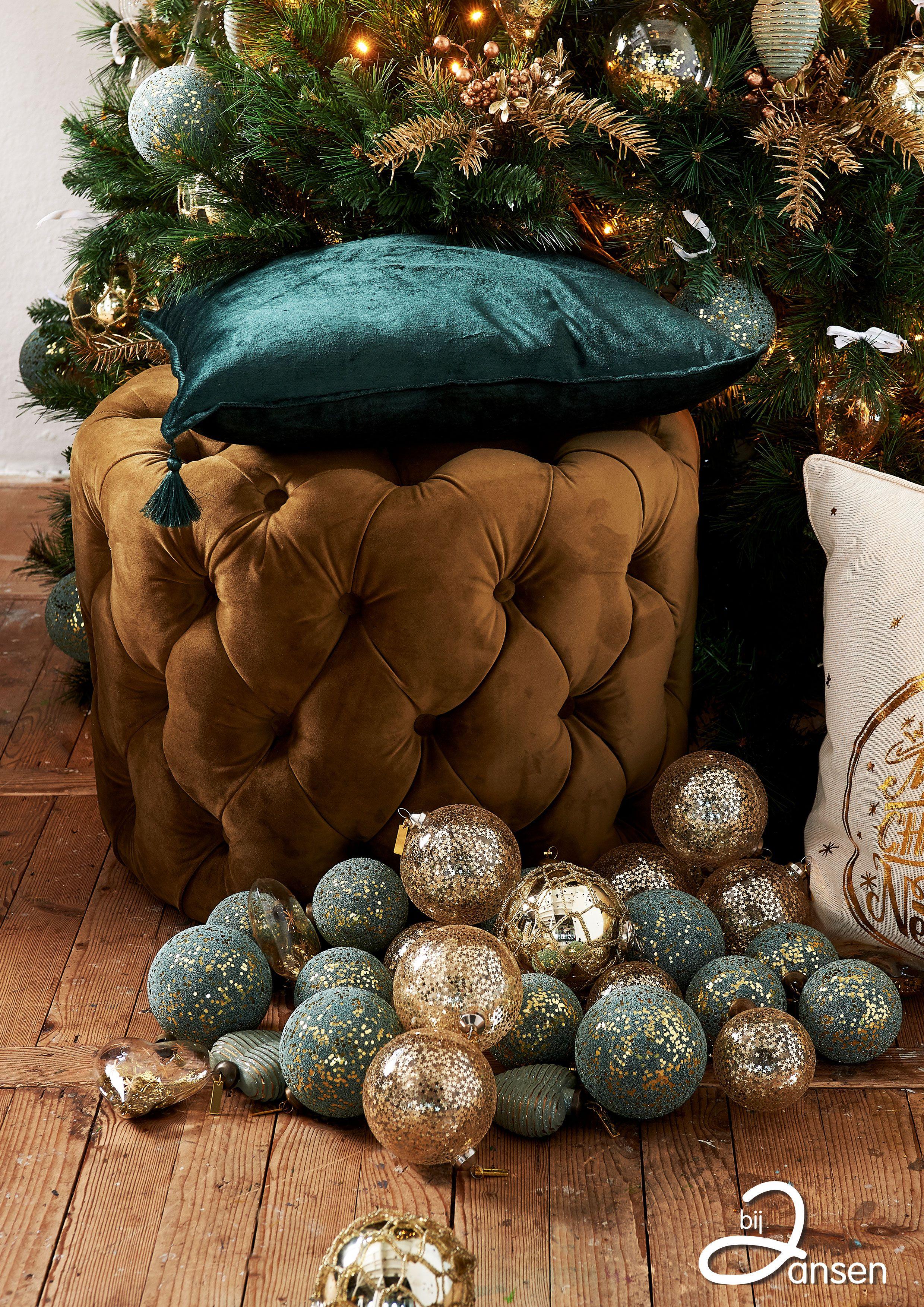 Kerst Bij Jansen Kerst Kerst Woonkamers Groene Kerst