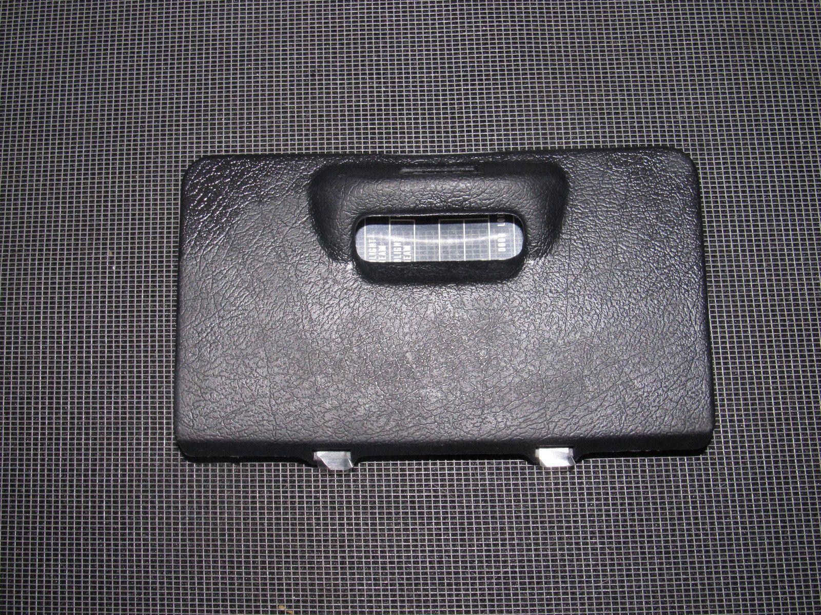 93 94 95 Honda Del Sol Oem Interior Fuse Box Autopartone Wiring 1993 Prelude Diagram 96 97 Cover