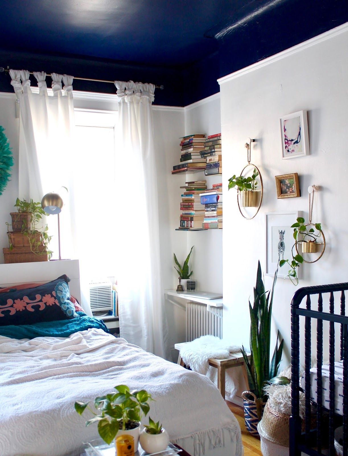 Best Boho Shared Master Bedroom X Nursery For The Home 640 x 480