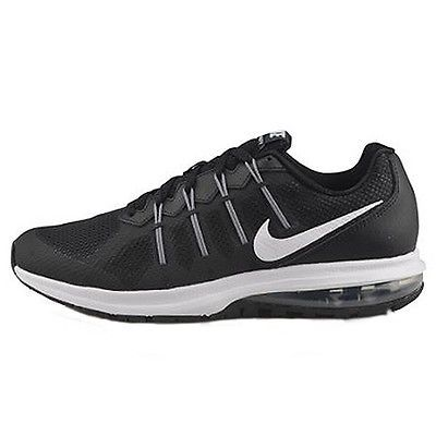 Mens Nike Air Max Dynasty Running Shoe Black/White