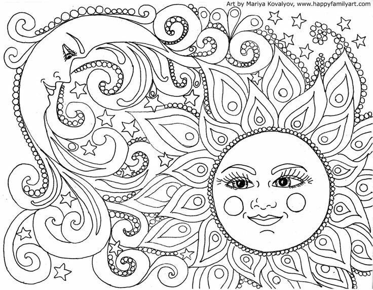 Pin de Ellie Lorenson en Coloring Pages | Pinterest | Mandalas, Mi ...