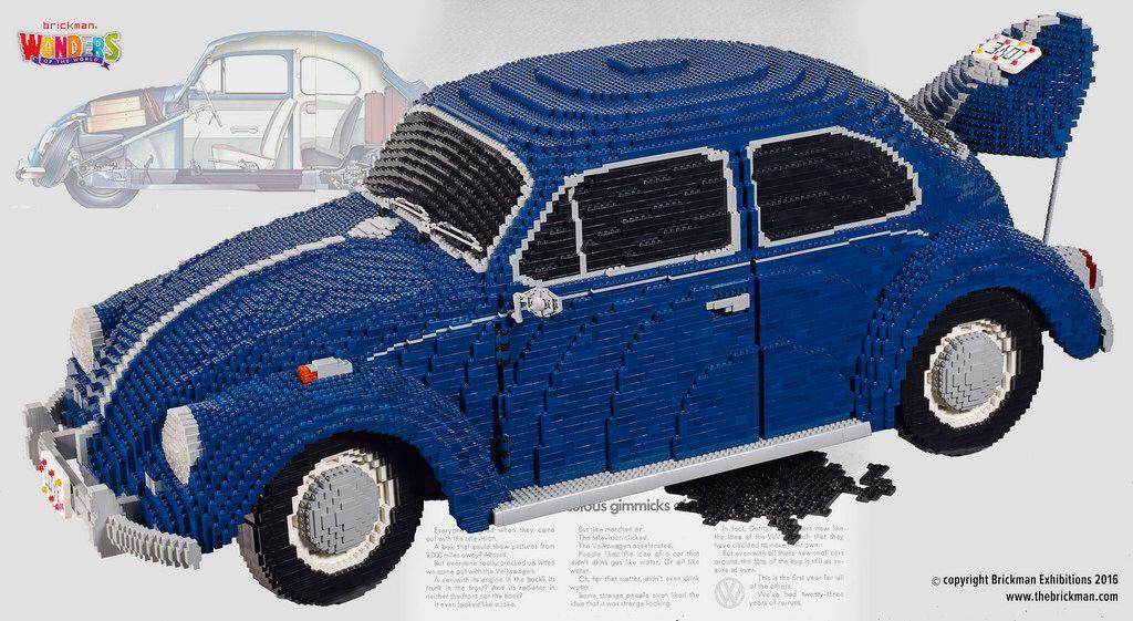 Lego Vw Beetle Amazing Lego Art Pinterest Vw Beetles Lego