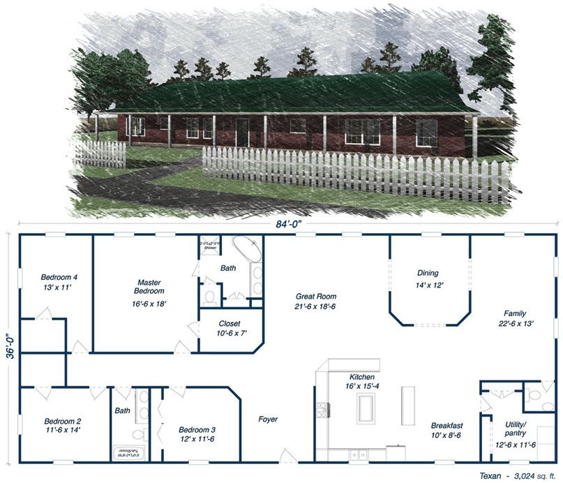 Steel Home Kit Prices Low Pricing On Metal Houses Green Homes Barn House Plans House Plans Metal Barn Homes