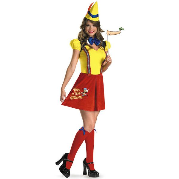 Sexy Pinocchio Costume, Pinocchio Adult Costume, Adult Pinocchio ...