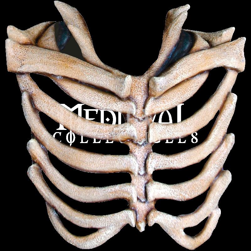 Ribcage Corset Chest Piece Skull And Bones Rib Cage