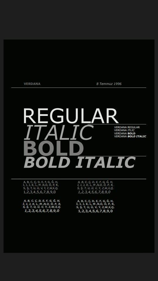 Typography Typography Bold Bold Bold Italic