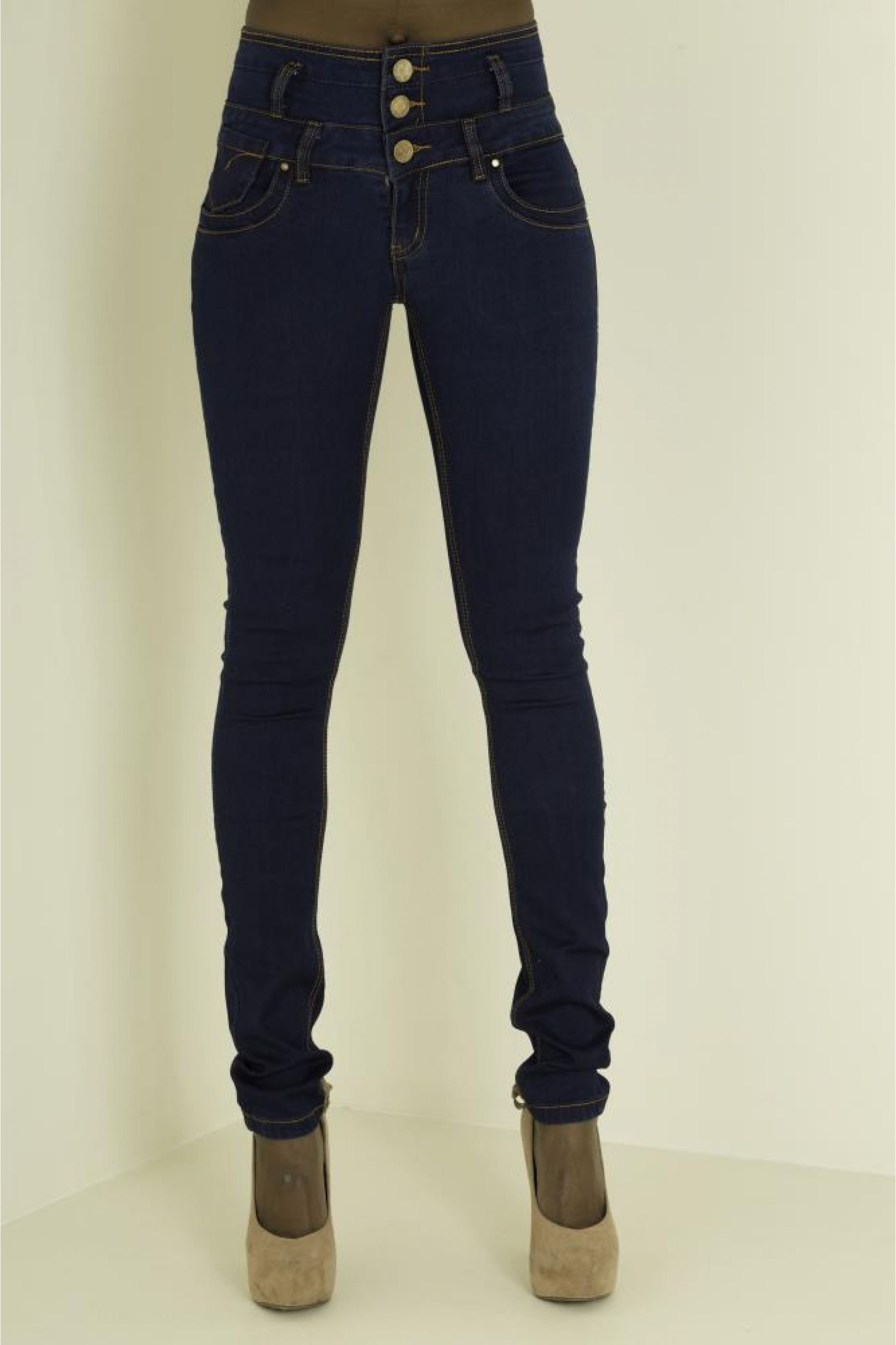 c757aa8b2a0 LONG LENGTH 3 BUTTON HIGH WAIST JEANS Sexy Jeans, Black Jeans, Skinny Jeans,