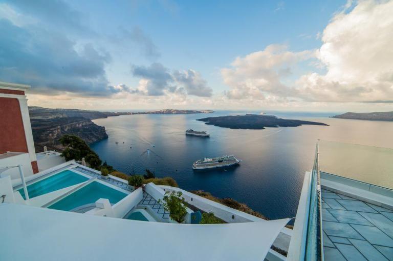 #סנטוריני #Fira #Santorini #Greece
