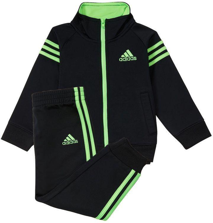 c9976d3e7 adidas Boys 4-7x Triple Stripe Tricot Jacket & Pants Set | Products