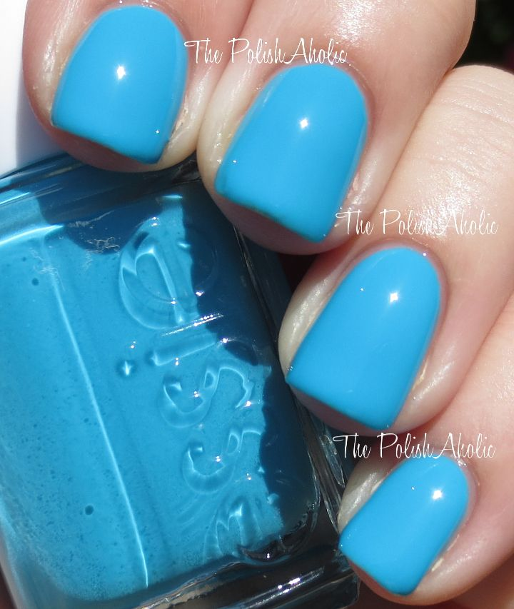 Essie Neon 2014 Too Taboo Collection Swatches - love this aqua \