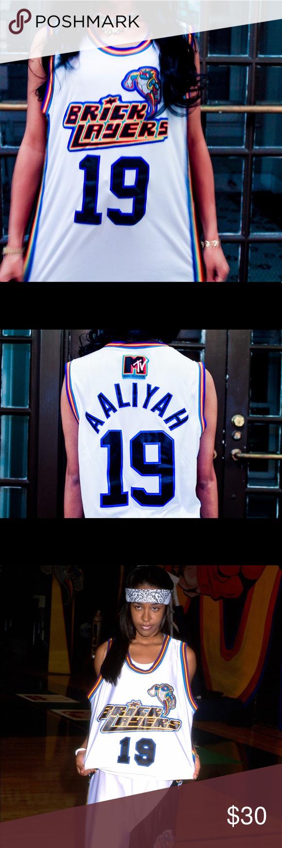 Aaliyah Bricklayers Basketball Jersey 🔥 🔥Aaliyah Bricklayers Basketball  Jersey🔥 sponsored by MTV ( 052a845dde