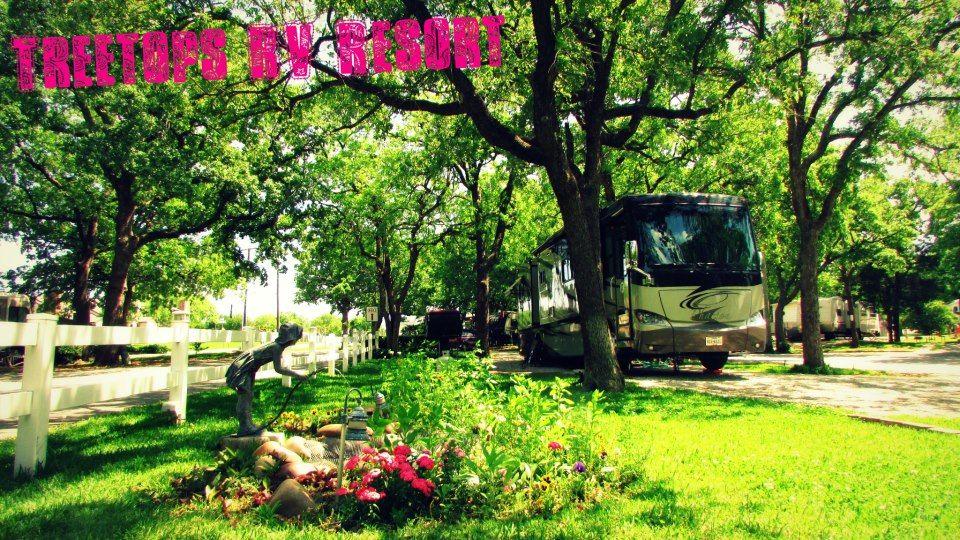 Check Out Treetops Rv Resort In Arlington Tx