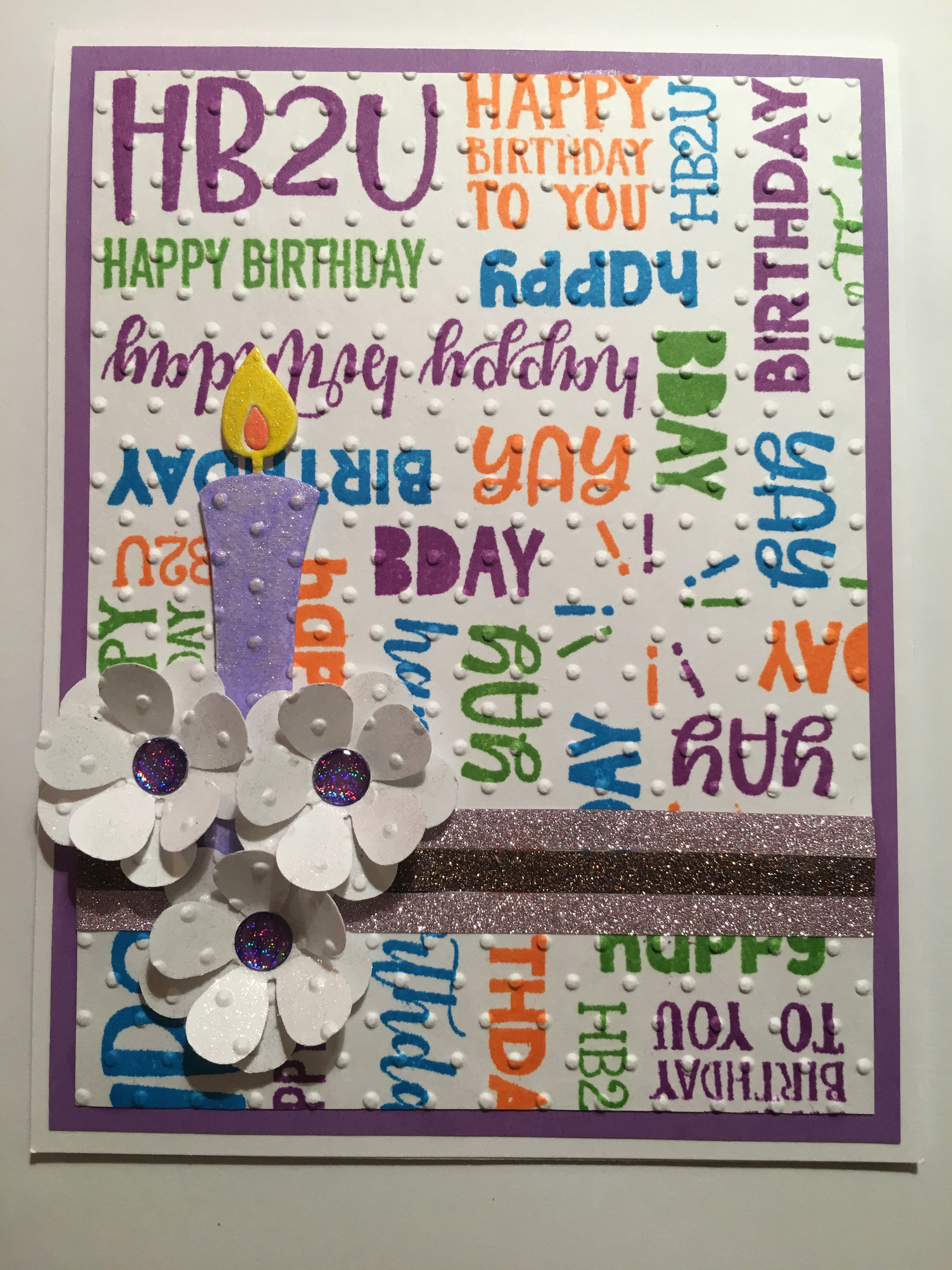 Happy birthday turnabout card aaa cindyus handmade cards