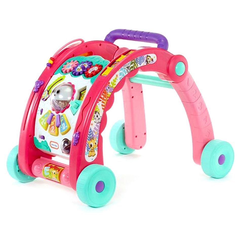 Little Tikes 3 In 1 Activity Walker In Pink In 2020 Little Tikes Baby Toddler Toys Toddler Toys