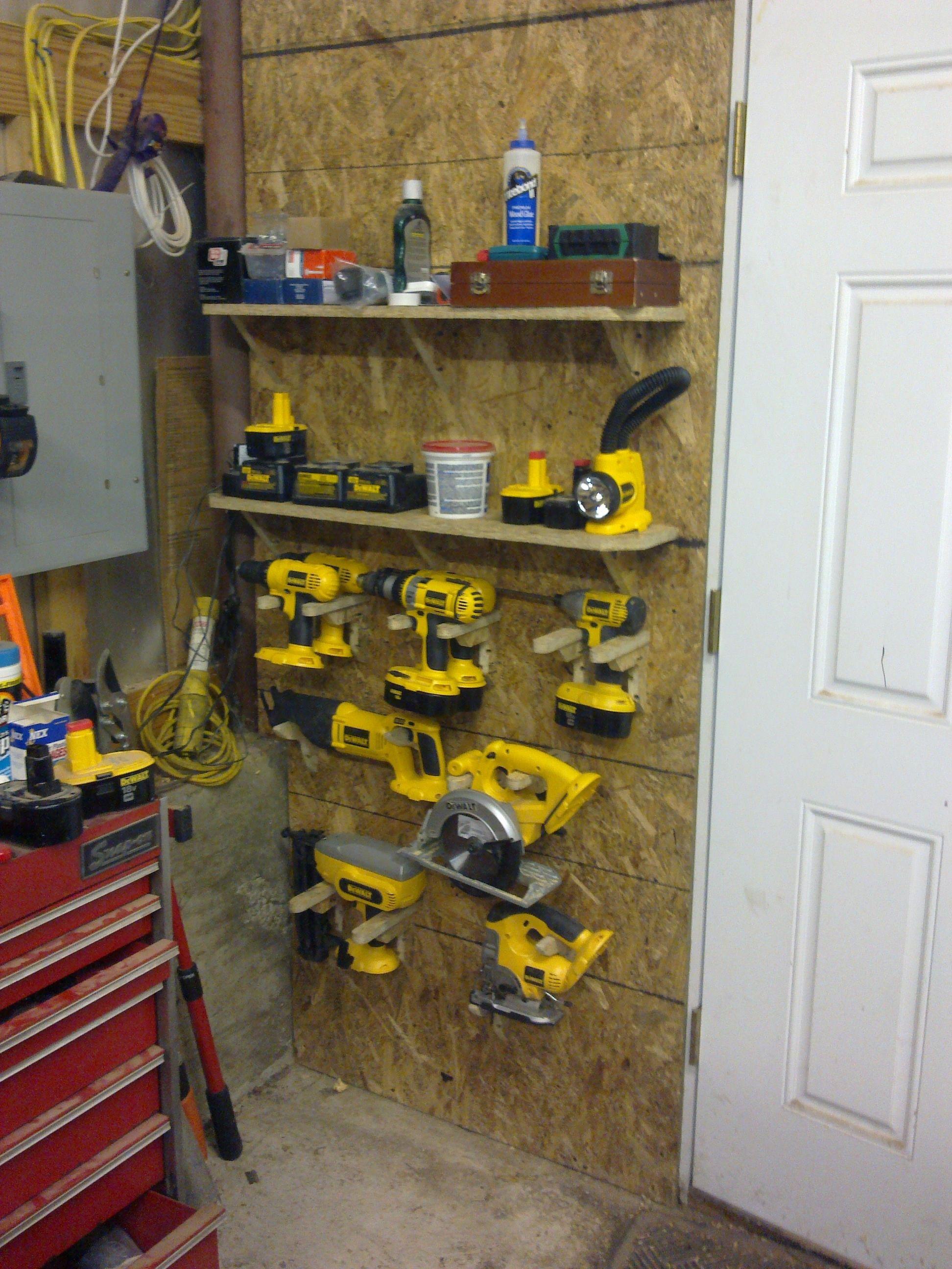 garage and pinterest space work pin storage tool