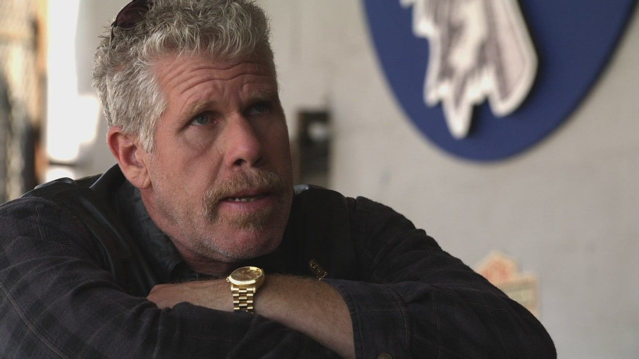 Former Soa President Clay Morrow Sons Of Anarchy Ron Perlman Anarchy