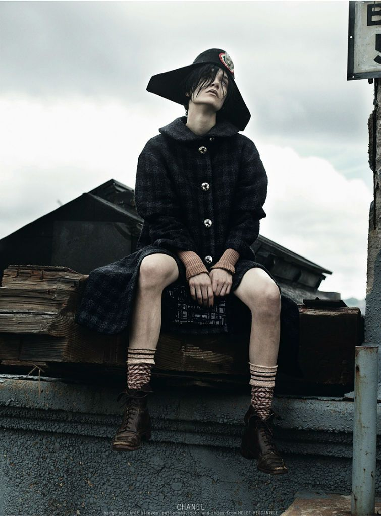 Janice Alda by Gregory Harris for Dazed & Confused September 2013 | The Fashionography
