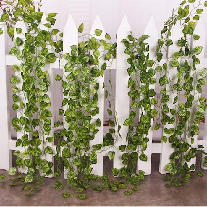 Plante artificielle de faux v g taux plus vrais que for Decoration murale vegetale