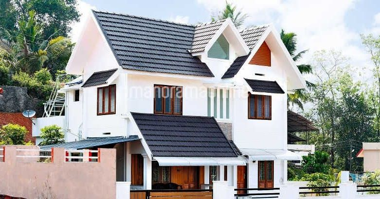3 Bedroom Villa In Kerala For 25 Lakhs 25 Lakhs Budget House Plans In Kerala Modern Courtyard Houses Court Modern Courtyard Kerala Houses Budget House Plans