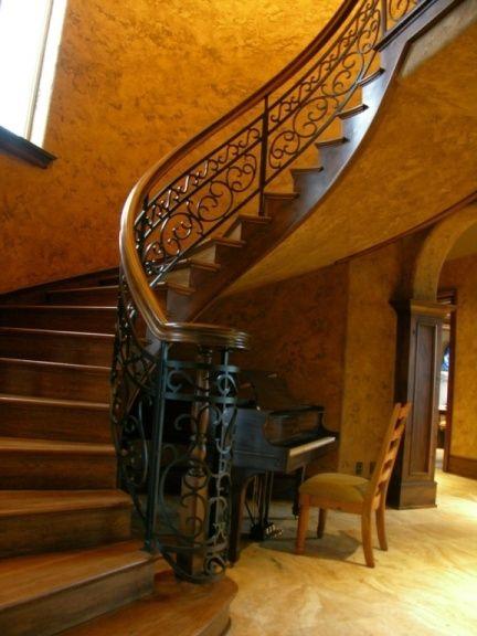 Best Alder And Steel Stair With Walnut Treads Steel Stairs 400 x 300