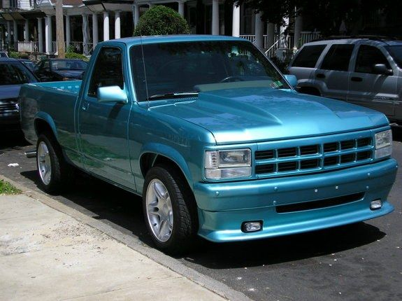 Ff E B Cb F Bd Fbe on Slammed Dodge Dakota