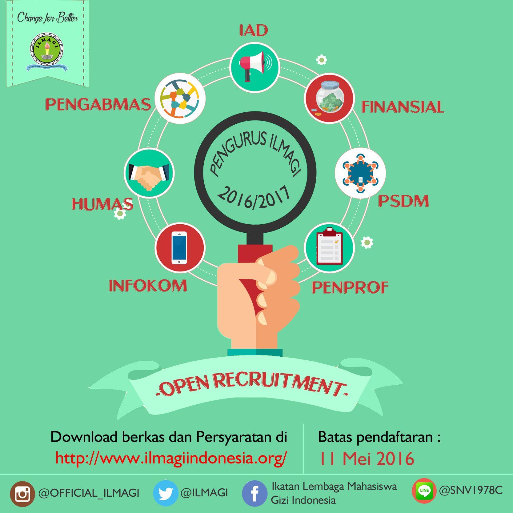 open recruitment poster Google Search Humas, Mahasiswa
