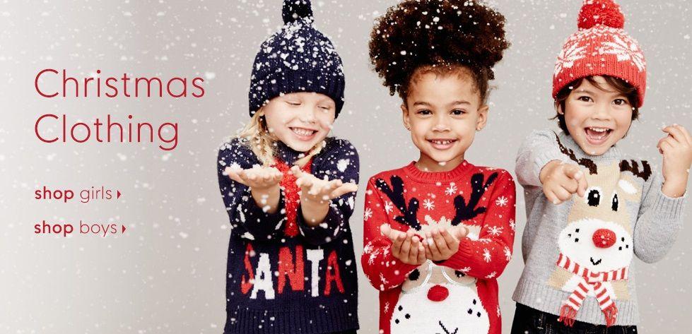 Mothercare Christmas Clothing Shop