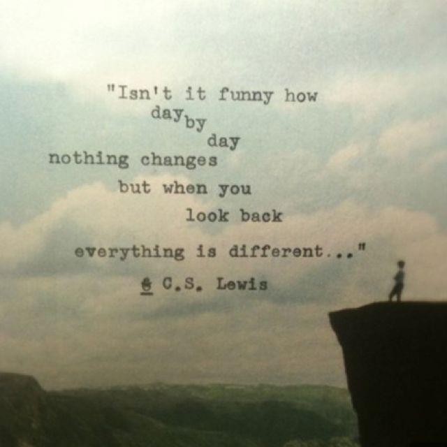 - C. S. Lewis.