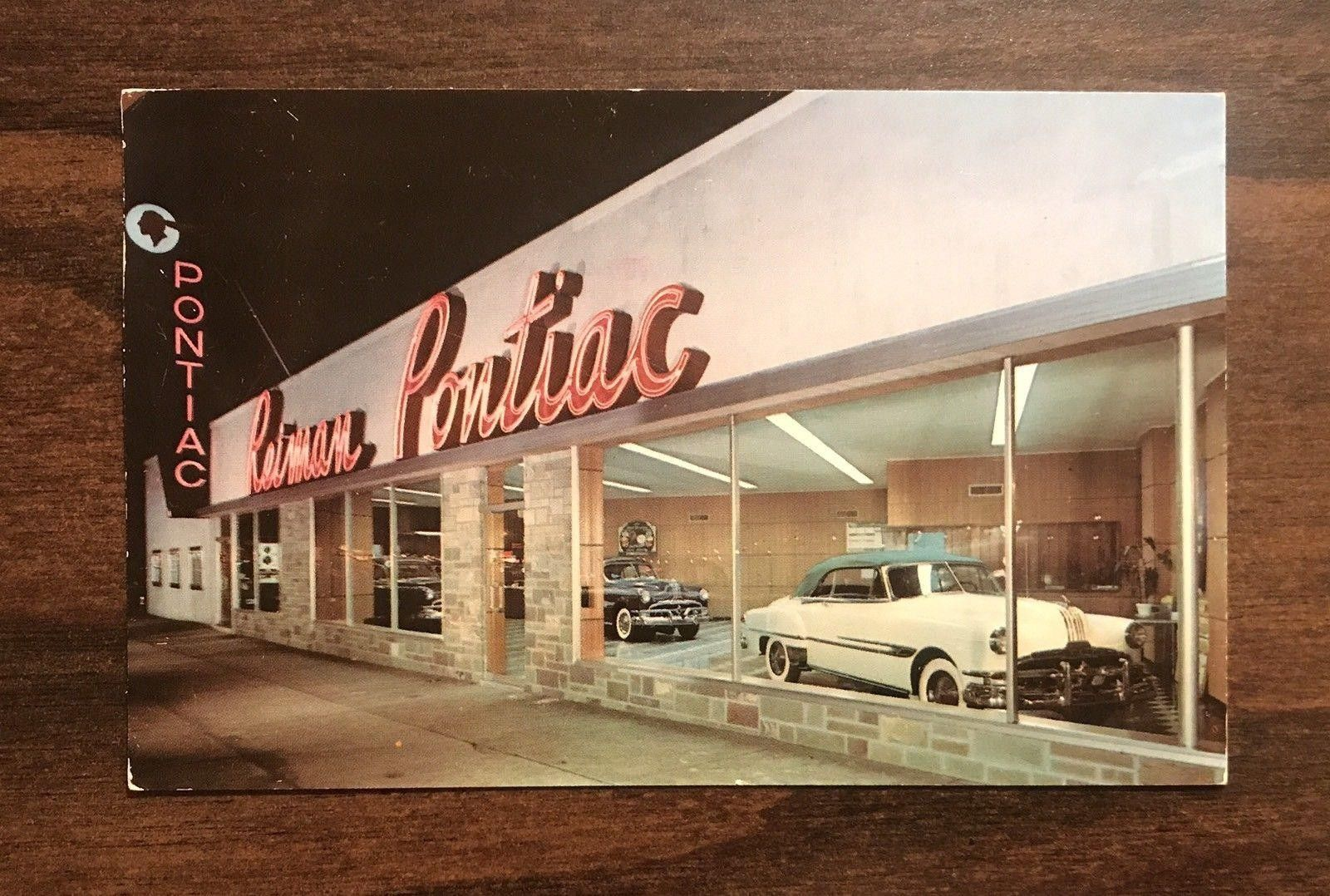 1955 Reiman Pontiac Dealership Paterson New Jersey Car Dealership Oldsmobile Pontiac