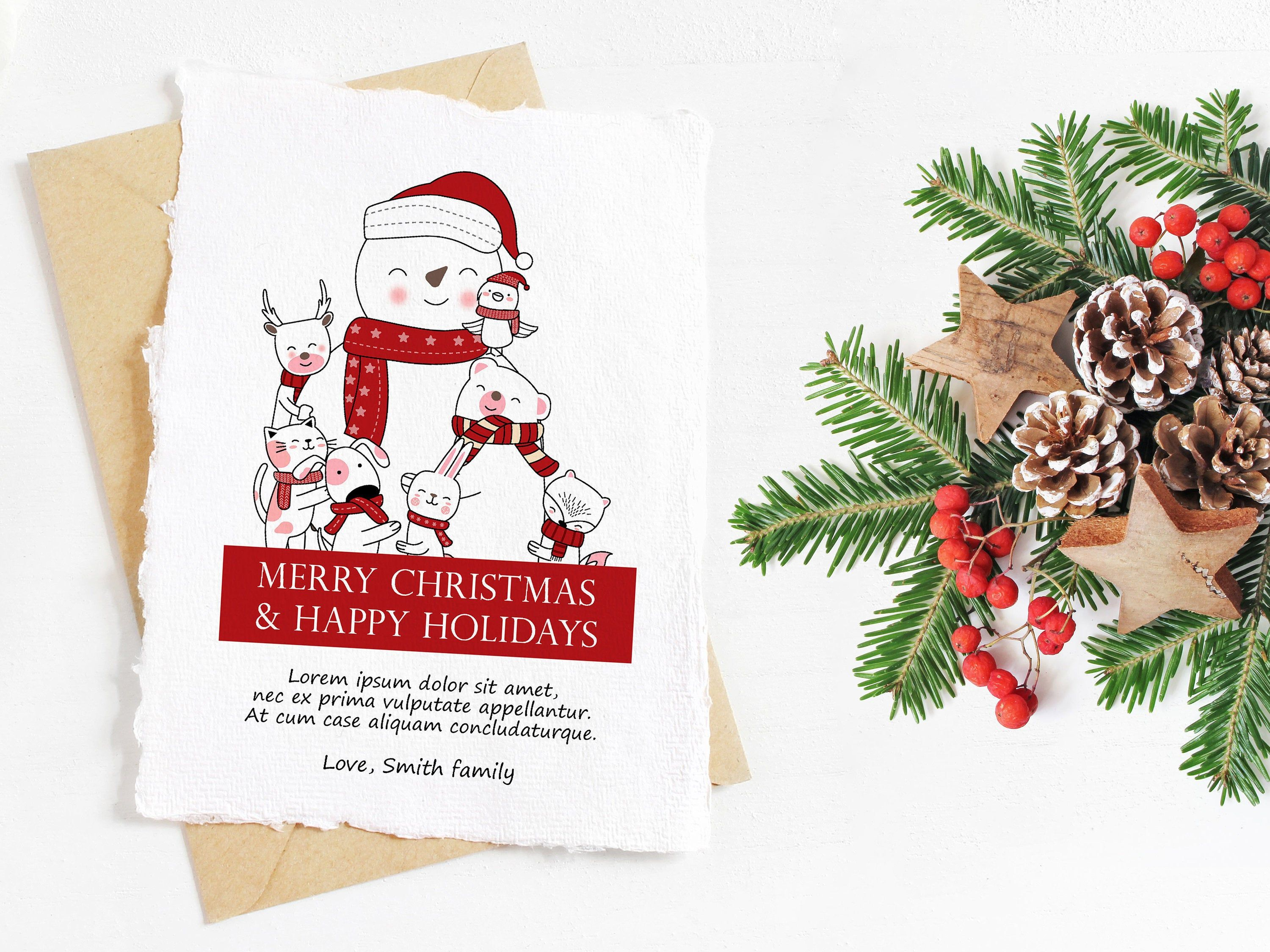 Pin By Mariya On Love In 2020 Christmas Card Template Christmas Templates Christmas Greetings