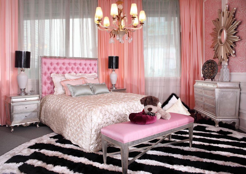 Glam Bedroom Decor S Pretty