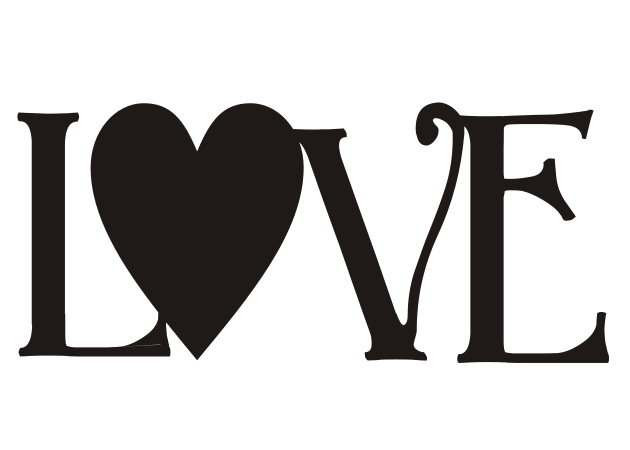 Download SVG LOVE.svg - File Shared from Box | Sign stencils ...