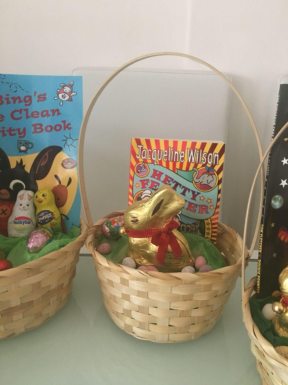 Easter gift basket for 9yo niece easter baskets pinterest easter gift basket for niece negle Images