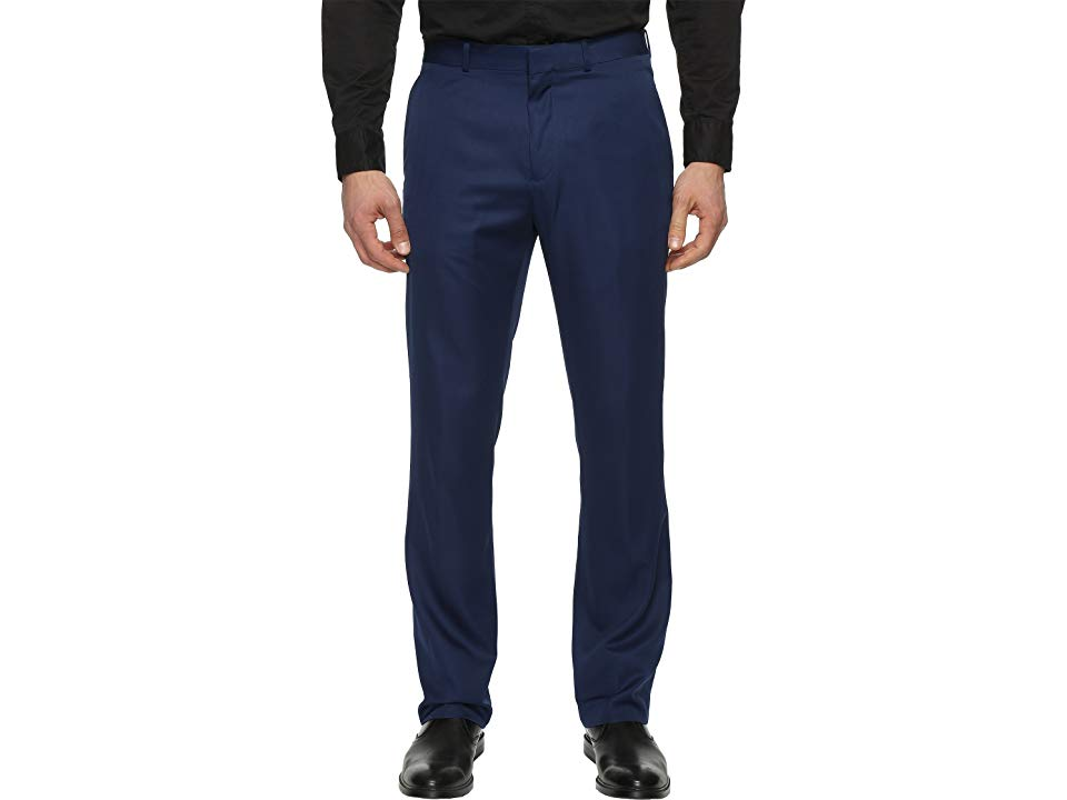 bea1bf5592 Perry Ellis Portfolio Solid Performance Portfolio Pant (Poseidon) Men s  Dress Pants. Suit up