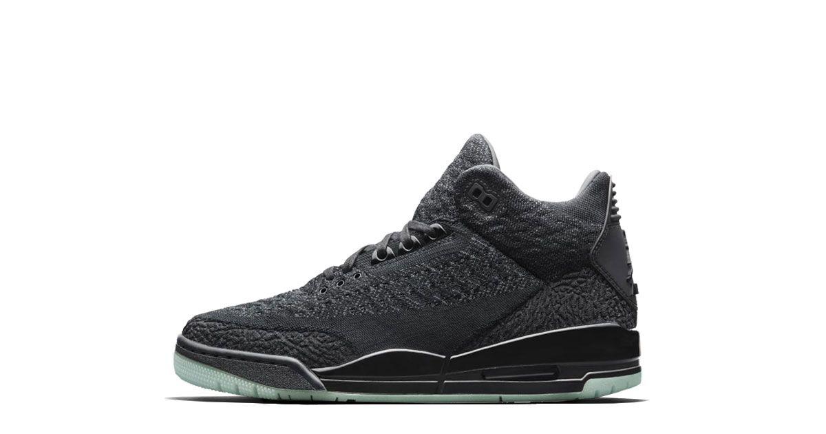 promo code 60cca a1ef7 Nike Air Jordan 3 Retro Flyknit Black - AQ1005-001 | Sneaker ...